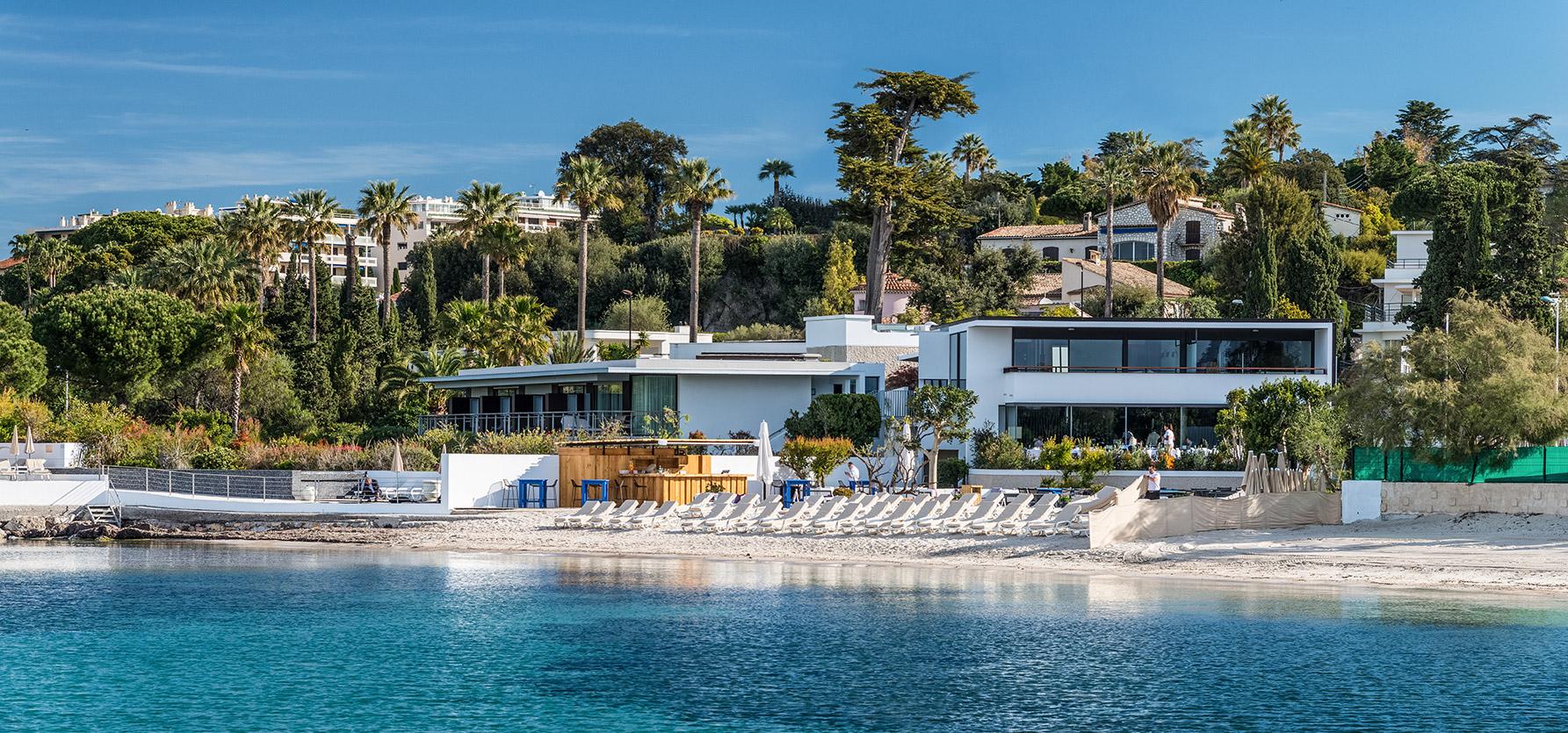 Cap D Antibes Beach Hotel French Riviera Luxury Thierry