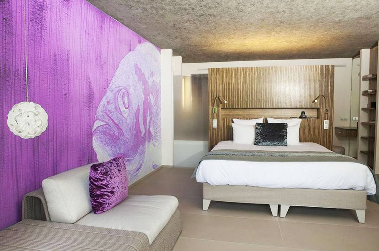 Chambre 9 French Riviera Luxury Hotel Thierry Bisch Animal Painter