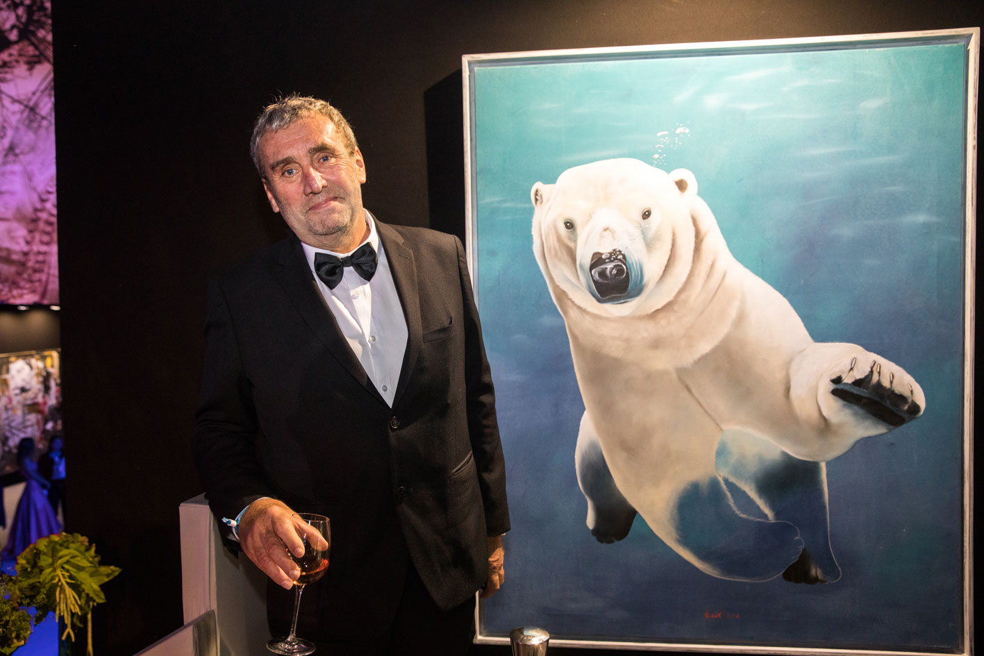 Save-the-Ocean animal-painting Thierry Bisch painter animals painting art decoration hotel design interior luxury nature biodiversity conservation