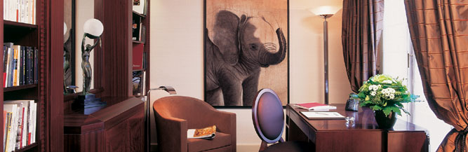 Hotel Lutetia Paris -La suite literaire animal-painting Thierry Bisch painter animals painting art decoration hotel design interior luxury nature biodiversity conservation