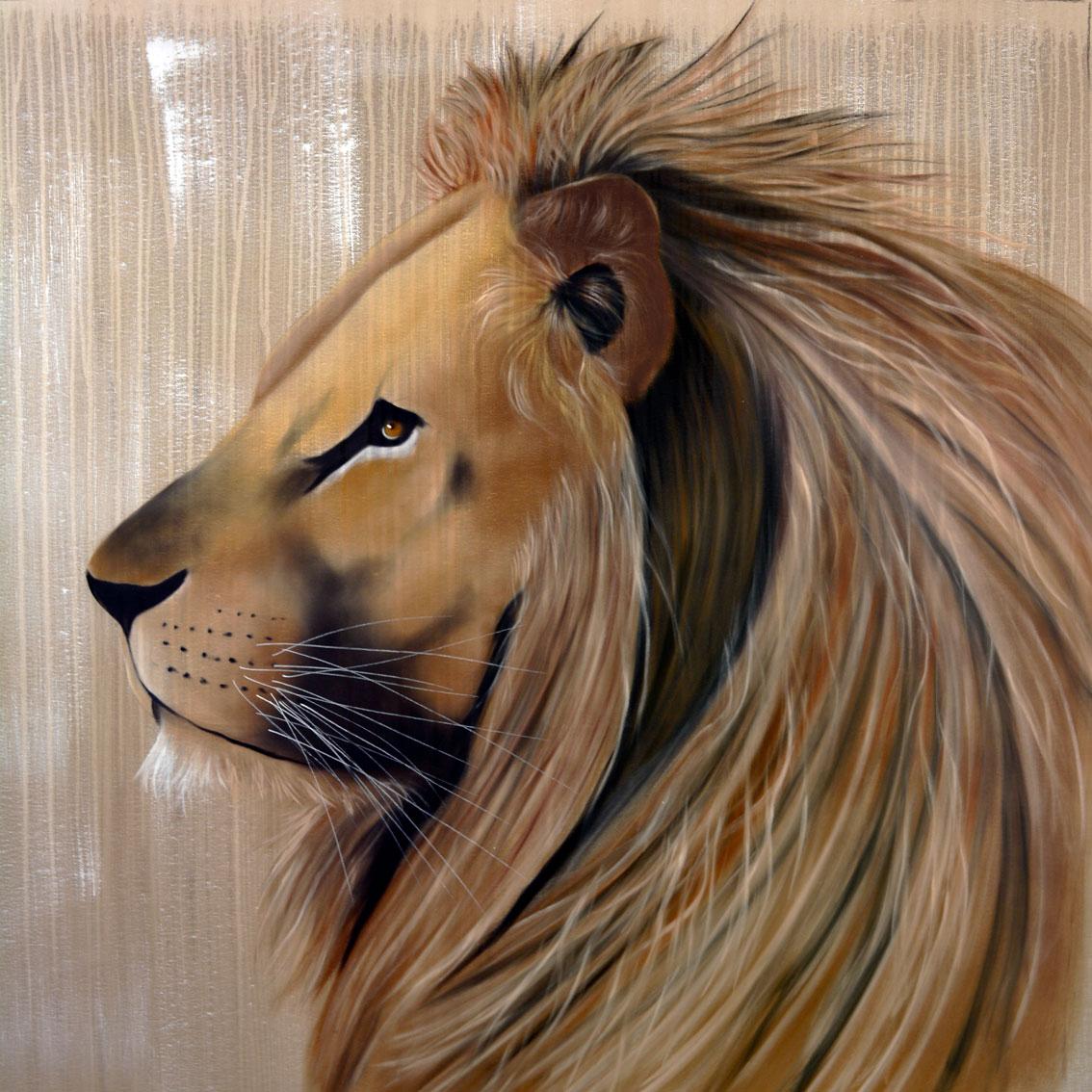 Peinture animali re de style r aliste pictures to pin on for Style de peinture