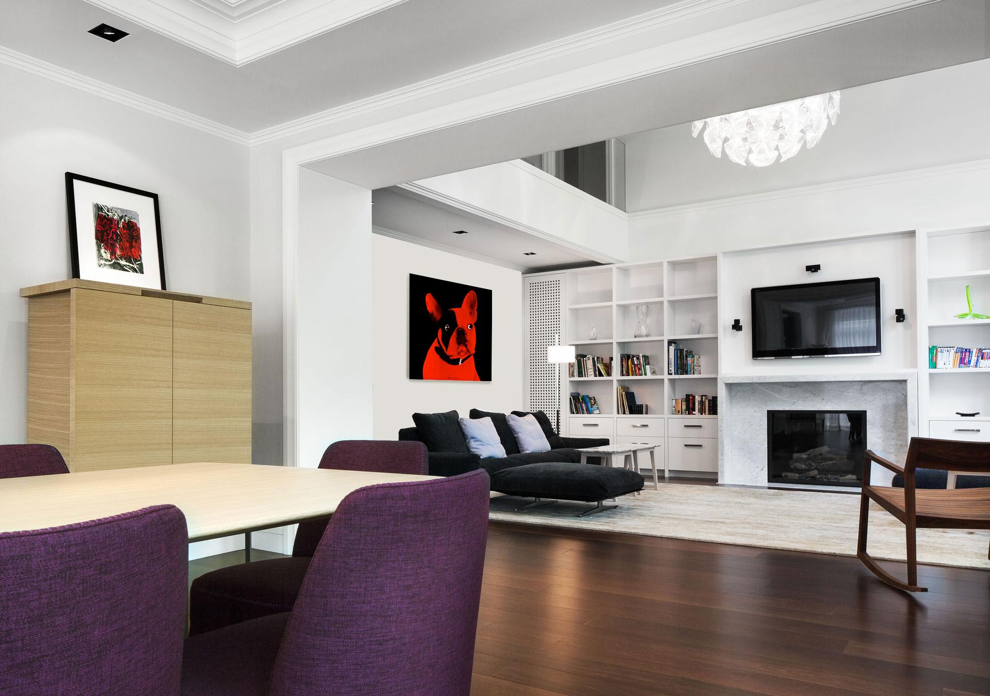 Third floor living peinture animali re thierry bisch for 100 floors 3rd floor