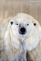POLAR BEAR - 6 polar-bear Thierry Bisch painter animals painting art decoration hotel design interior luxury nature biodiversity conservation