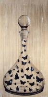 TWS-A -Carafe-butterfly Thierry Bisch Contemporary painter animals painting art  nature biodiversity conservation