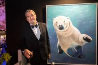 Save-the-Ocean animal-painting Thierry Bisch Contemporary painter animals painting art  nature biodiversity conservation