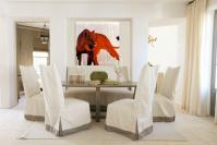 RED-LIONESS animal-painting Thierry Bisch painter animals painting art decoration hotel design interior luxury nature biodiversity conservation