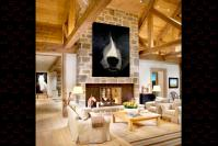 GRIZZLY-CLOSE-UP grizly-bear-deco-decoration-large-size-printed-canvas-luxury-high-quality- Thierry Bisch painter animals painting art decoration hotel design interior luxury nature biodiversity conservation