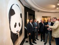 VERNISSAGE MONACO thierry-bisch Thierry Bisch painter animals painting art decoration hotel design interior luxury nature biodiversity conservation