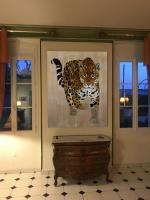 Pantera-Onca panthera-onca-jaguar-delete-threatened-endangered-extinction- Thierry Bisch painter animals painting art decoration hotel design interior luxury nature biodiversity conservation