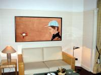 Hotel Lutetia Paris - Suite des Enfants-Salon child%20portrait Thierry Bisch painter animals painting art decoration hotel design interior luxury nature biodiversity conservation