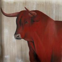 Red-bull-02 Red-bull Thierry Bisch painter animals painting art decoration hotel design interior luxury nature biodiversity conservation