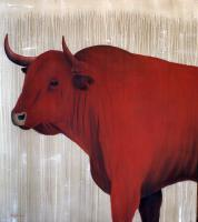 Red-bull-07 Red-bull Thierry Bisch painter animals painting art decoration hotel design interior luxury nature biodiversity conservation